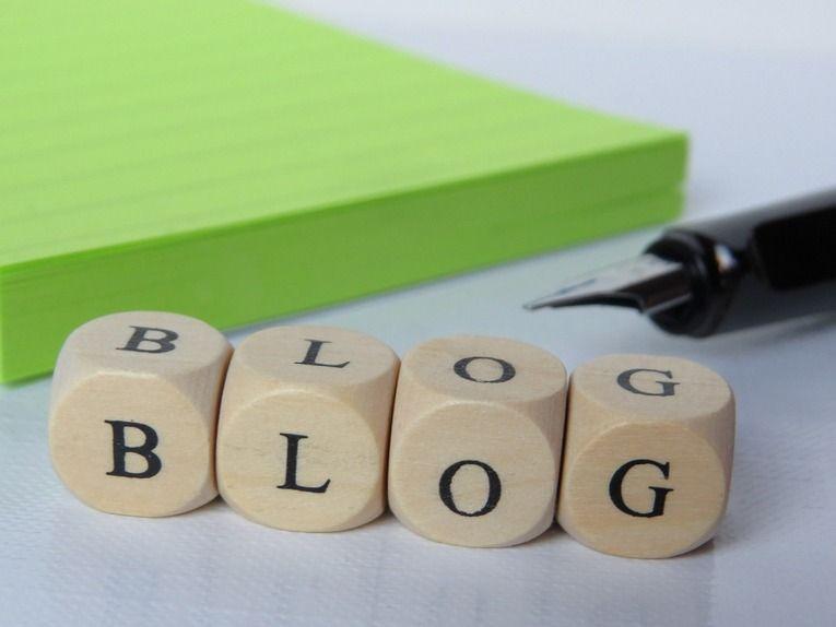 własny blog
