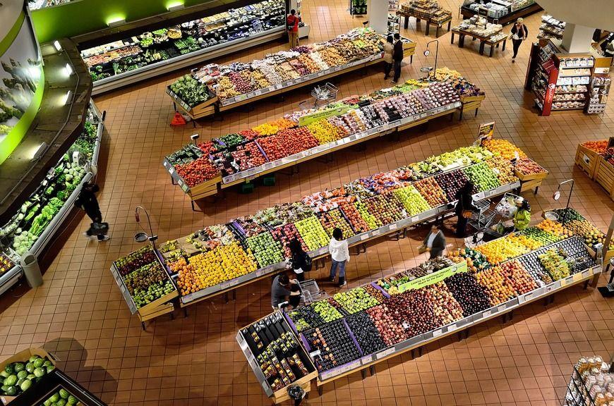 zakupy spożywcze - sklep